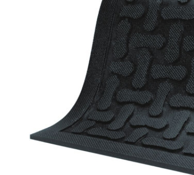 Andersen Mats 430-2-3 Comfort Flow Anti-Fatigue Mat, 2 x 3-ft, Slip-Resistant, Black