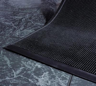 Andersen Mats 874-3-6 Flex-Tip Fingertip Entrance Mat, 3 x 6-ft, Black