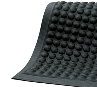 Andersen Mats 964-3-5 AirFlex Indoor Anti-Fatigue Mat, 3 x 5-ft, Black