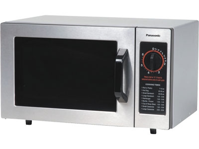 Panasonic NE-1022F 1000w Commercial Microwave with Dial Control, 120/1v
