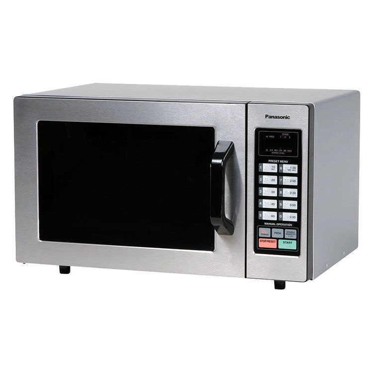 Panasonic NE1054F 1000w Commercial Microwave with Touch Pad, 120v