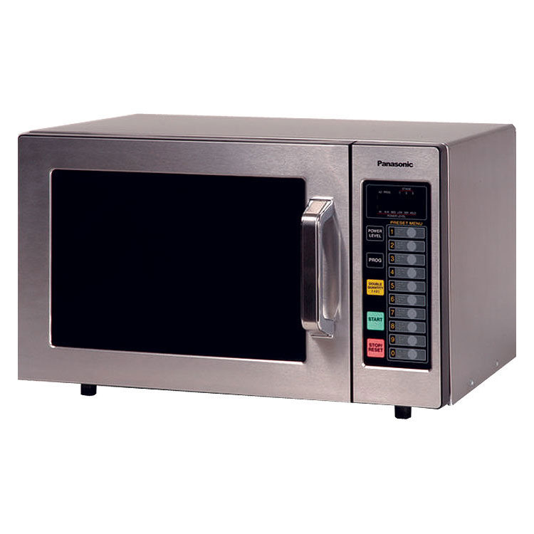 Panasonic NE-1064 1000w Commercial Microwave with Touch Pad, 120/1v
