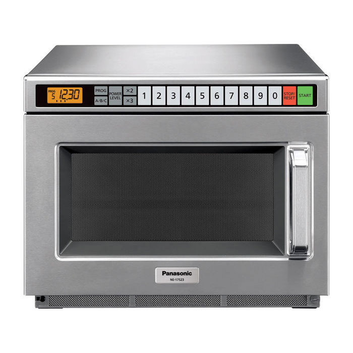 Panasonic NE12523 1200w Commercial Microwave with Touch Pad, 120/1v