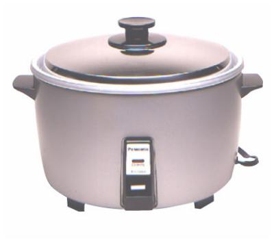 Panasonic SRGA721 40-Cup Rice Cooker - Auto Off, (140) 3-oz Servings, 208 V