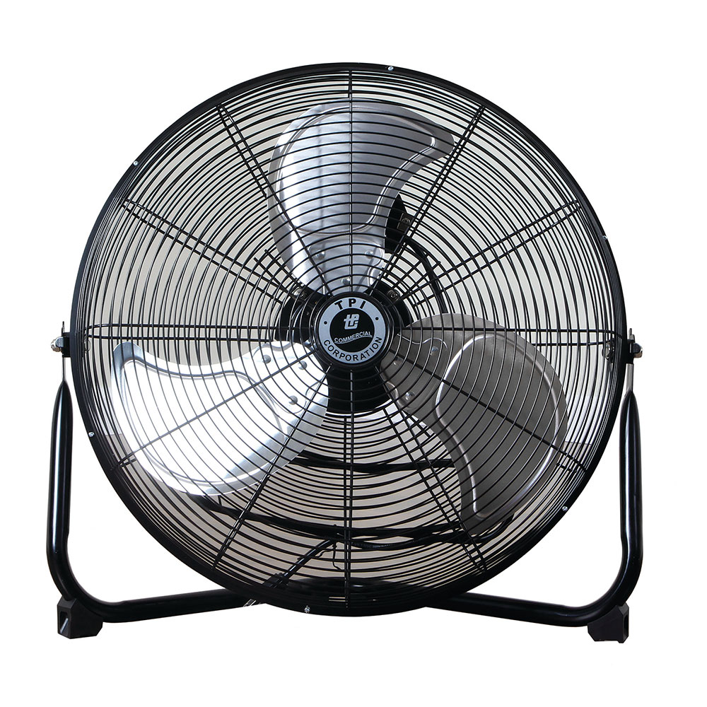 TPI Corporation CF 12 12-in Floor Model Fan w/ 3-Speed