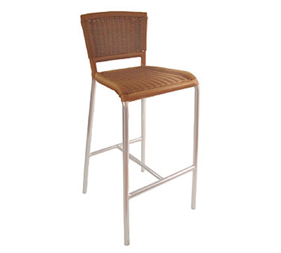 EmuAmericas 1209 NATURAL Laura Barstool, Foot Rest