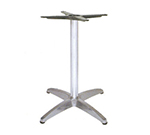EmuAmericas 1351 Max Table Base For 28-36 in Diameter Tops, Dining H, Aluminum
