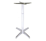EmuAmericas 1356 Max Table Base For 24 in Tops, Bar Height, Cast Aluminum