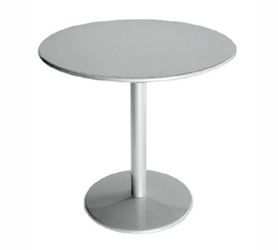 EmuAmericas 902 Bistro Table, 32 in Diameter, Solid Pedestal, Bronze