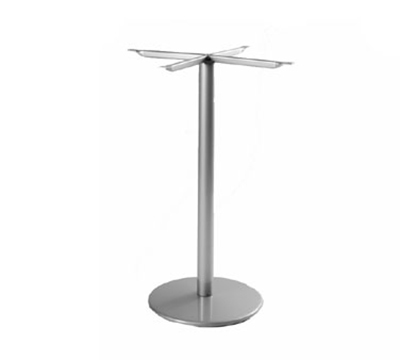 EmuAmericas 900HBS BLACK Bistro Table Base, For 24 in D Tops, Bar Height, Black
