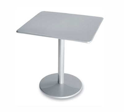 EmuAmericas 901 ALU Bistro Table, 30 in Square, S