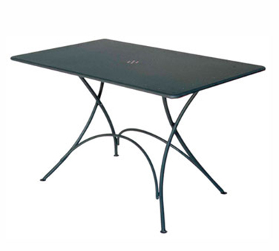 EmuAmericas 903 Classic Folding Table, 46 W x 30 in D, Bronze