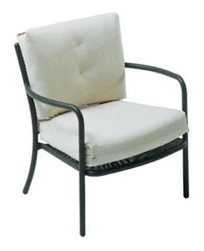 EmuAmericas 3416 WHITE Podio Lounge Armchair, Steel Mesh, Tubular Frame, White