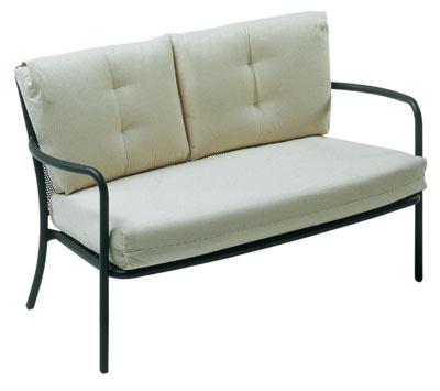 EmuAmericas 3417 Podio Lounge Love Seat, Mesh, Tub