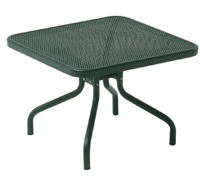 EmuAmericas 3419 AIRON Podio Low Side Table, Mesh Top, Tubular Frame,
