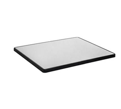 "EmuAmericas GG2846 Gus Outdoor Table Top - 28x46"" Melamine/Polypropylene, Silver/Anthracite"
