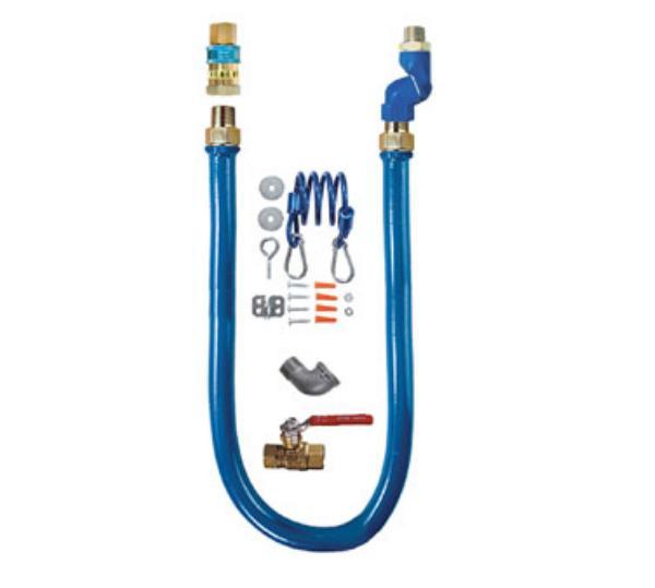 "Dormont 1675KITS48 48"" Gas Connector Kit w/ 3/4"" Male/Male Couplings"