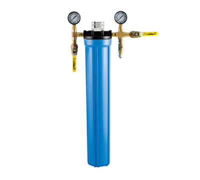 Dormont CBMX-CP1L Water Filtration System, Single w/ Ball Valves, Flush Kit & Housin