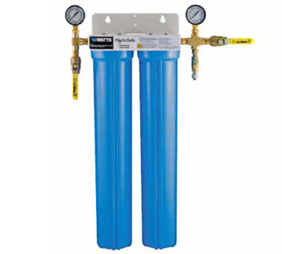 Dormont BRWMAX-S2L 2-Stage Brew Max-S2L Filtration Unit System w/ Ball Valves & Flush Kit
