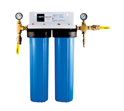 Dormont CBMX-S2B 2-Stage Cube Max-S2BBL Filtration System w/ Ball Valves & Flush Kit