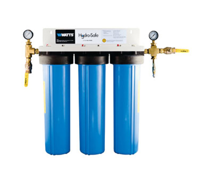 Dormont CBMX-S3B 3-Stage Cube Max-S3BBL Filtration System w/ Ball Valves & Flush Kit