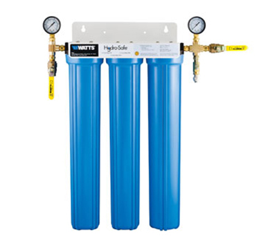 Dormont CBMX-S3L 3-Stage Cube Max-S3L Filtration System w/ Ball Valves & Flush Kit