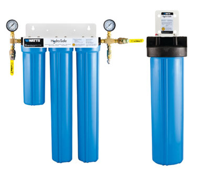 Dormont CBMX-S3LP 4-Stage Cube Max-S3L Plus Filtration System w/ Ball Valves & Flush Kit