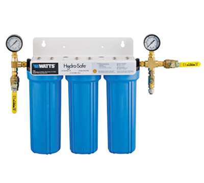 Dormont CBMX-S3S 3-Stage Cube Max-S3 Filtration System w/ Ball Valves & Flush Kit