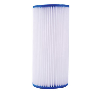 Dormont HSR-BL-SED-20MP 20-in Big Blue Pleated Sediment Filter w/ 20-Micron
