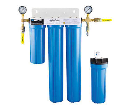 Dormont STMMAX-S3LP-LS 4-Stage Steam Max-S3L Lime Scale Filtration System w/ Ball Valves & Flush Kit