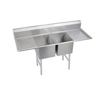 Elkay 2C18X18-2-18X Standard Sink w/ (2