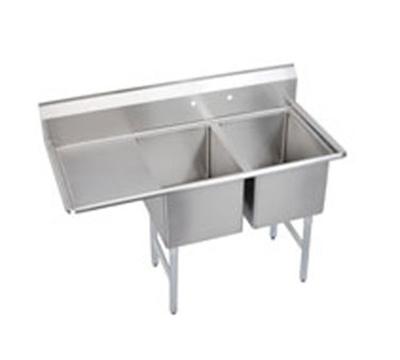 Elkay 2C18X18-L-18X Standard Sink w/ (2) 18x1
