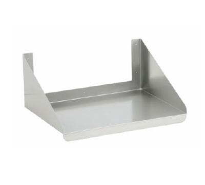 Elkay WMMS-24-24X Microwave Shelf, 24x24x10-in, Stainless