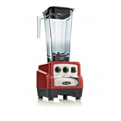 Omega BL490R Commercial Blender - Timer, Cyclic, Pulse, 64-oz, Variable 3-hp