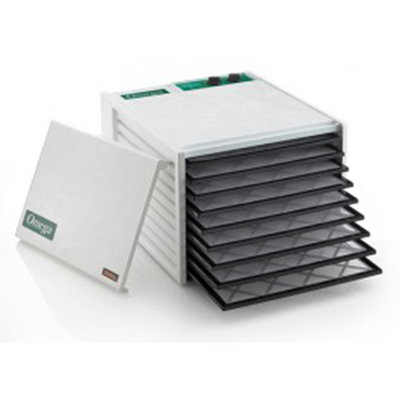 Omega DH9090TW Dehydrator - 9-Tray, Timer, 9 Sheets Paraflex