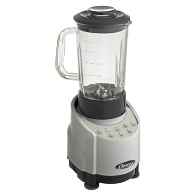Omega SLK100GS Blender - 43 oz Glass Contai