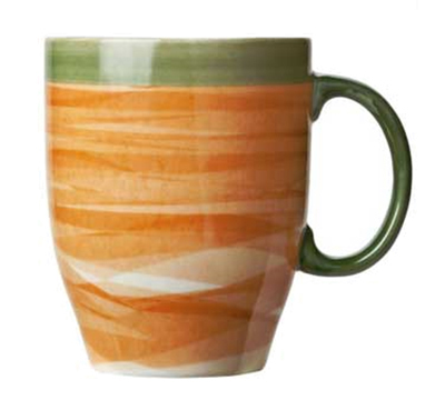 World Tableware CCT-30380 13-1/4 oz Mug - Ceramic, Non-Stackable, T