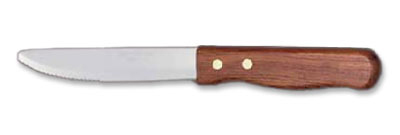 World Tableware 2001492 10-in Steak Knife w/ Wood Handle, Beef