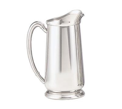 World Tableware 84171 64-oz Traditional Water Pitcher - Silverplated