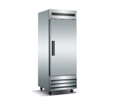 Metalfrio CFD-1FF-23 1-Section Reach In Freezer w/ Reversible Door, 23-cu ft, Stainless