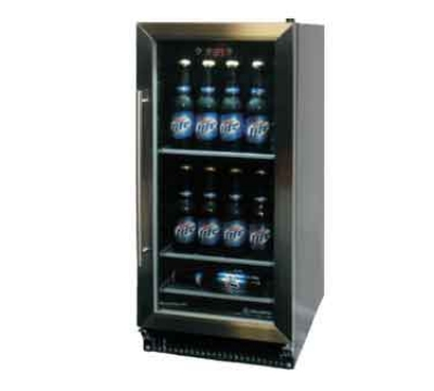 Metalfrio HBC-60 Undercounter Beer Cooler - Glass Door, Auto Defrost, 5.3-cu ft