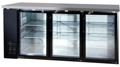 "Metalfrio MBB24-72G 72.8"" Bar Refrig"
