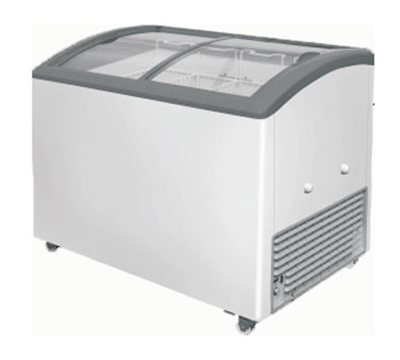 Metalfrio MSC-41C 11.5-cu ft Angled Curve Top Freezer Chest w/ Bottom Mount System, Self Contained