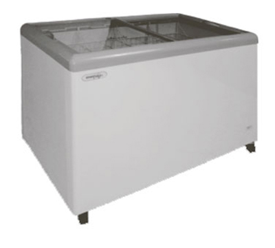 Metalfrio MSF-52C 14.0-cu ft Horizontal Top Freezer Chest w/ Bottom Mount System & Self Contained