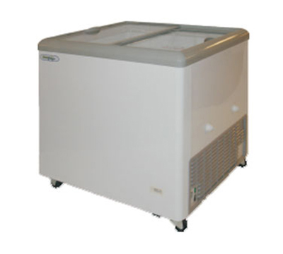Metalfrio MSF31C 7.5-cu ft Horizontal Top Freezer Chest w/ Bottom Mount System & Self Contained