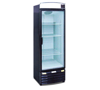Metalfrio REB-20 1-Section Upright Cooler w/ 1-Glass Door & 4-Shelves, 20.3-cu ft