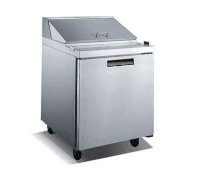 "Metalfrio SCL1-27-8 27.5"" Sandwich/Salad Prep Table w/ Refrigerated Base, 115v"