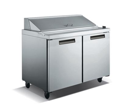 "Metalfrio SCL2-60-16 60.2"" Sandwich/Salad Prep Table w/ Refrigerated Base, 115v"