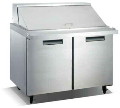 "Metalfrio SCLM2-47-18 46.8"" Sandwich/Salad Prep Table w/ Refrigerated Base, 115v"