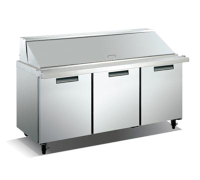 "Metalfrio SCLM3-70-30 70.4"" Sandwich/Salad Prep Table w/ Refrigerated Base, 115v"